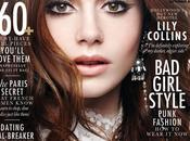 Lily Collins Elle Canada September 2013