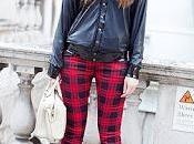Street style:clash tartans