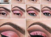 Maquillaje marron rosado
