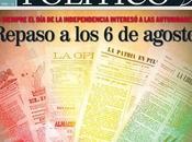 AGOSTO BOLIVIA: Revisión hemerográfica 1826 1981