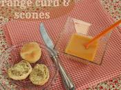 british!!! Orange curd scones