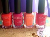 Manicuras Colores verano KIKO