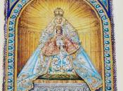 pequeño retablo Virgen Reyes.