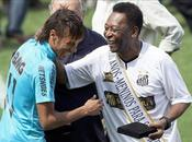 Pelé excluye Neymar tres mejores jugadores historia Santos