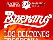 Burning, Deltonos Freedonia lideran Mayorga Rock Festival, septiembre Plasencia