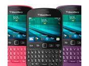 BlackBerry 9720 nuevo teléfono inteligente teclado retrocede tiempo