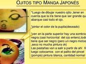pintar ojitos estilo manga