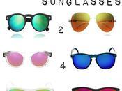 Mirrored sunglasses Gafas Espejo