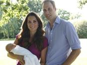 Primer retrato oficial hijo Kate William