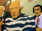 Autorretratos: Picasso, Miró Dalí