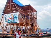 escuela flotante sostenible para Makoko, Venecia África