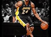 Uniformes negros para Lakers.