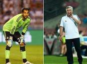 Ancelotti encontró portero titular