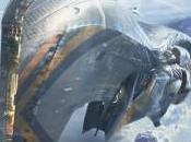 Construcción puente mando gran nave rodaje Guardianes Galaxia
