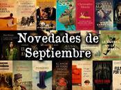 Novedades literatura septiembre 2013