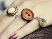 Preciosos anillos botón