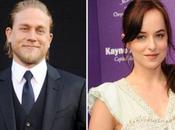 "Dakota Johnson Charlie Hunnam protagonizarán ""Cincuenta sombras Grey"""
