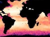 Mapa salinidad océano