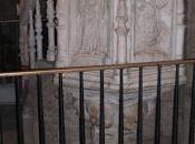 Joyas artes plásticas Extremadura: púlpito renacentista Basílica Santa Eulalia Mérida