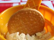 Helado casero huevo galleta María