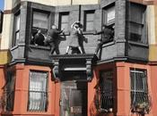 Crónica negra Nueva York: mismos lugares antes ahora. fotografías.