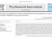 Adherencia tratamiento hombres maltratadores contra pareja entorno comunitario Enrique Echeburúa
