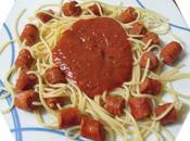 Espaguetis chistorra