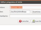 Configurar botones laterales ratón Ubuntu