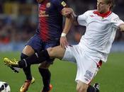 Barça pone prueba liderato contra Sevilla victorias