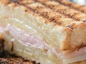 Sandwich lacon queso manchego tierno
