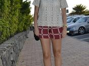 Zara Checkered Shorts