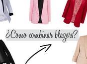 ¿Cómo combinar blazers?