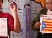 Adoctrinamiento catalan escuelas