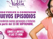 Estreno segunda temporada Violetta