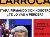 Firma ejemplares Salvador Larroca Akira Comics, Madrid