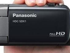Panasonic SDX1, videocámara pequeña capaz grabar alta definición