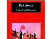 país últimas cosas. Paul Auster