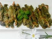 Solomillos pollo costra pesto