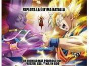 Estrenos Argentina septiembre. Dragon Ball Caídos mapa