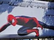 Nuevo banner Amazing Spider-Man valla publicitaria