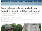 Francia propone rehabilitar memoria soldados propios fusilados tras juicios sumarísimos durante guerra mundial