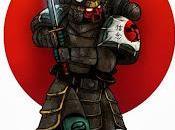 Servo-samurais entre Marines Espaciales