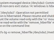 Error puede montar partición Windows Linux