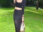 Midi rings long skirt