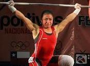 Gabriela vera anotó nuevo récord nacional levantamiento pesas inicio juegos deportivos escolares