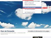 Como corregir publicación programada Facebook