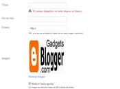 ¿Como guardar Gadget titulo Blogger (solucion)?