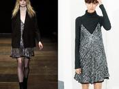 Clones: vestido lentejuelas Saint Laurent Zara