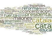 Discurso nacionalista español través nubes tags partidos