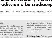Mecanismo celular molecular adicción benzodiacepinas Rosas-Gutiérrez col.
